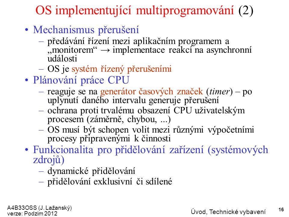 A4B33OSS (J.