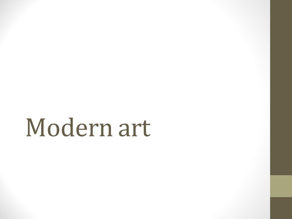 What kind of art do you like.Do you prefer modern art.
