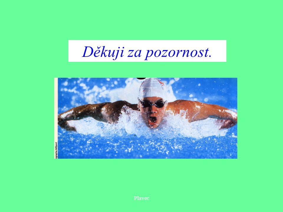 Plavec Děkuji za pozornost.