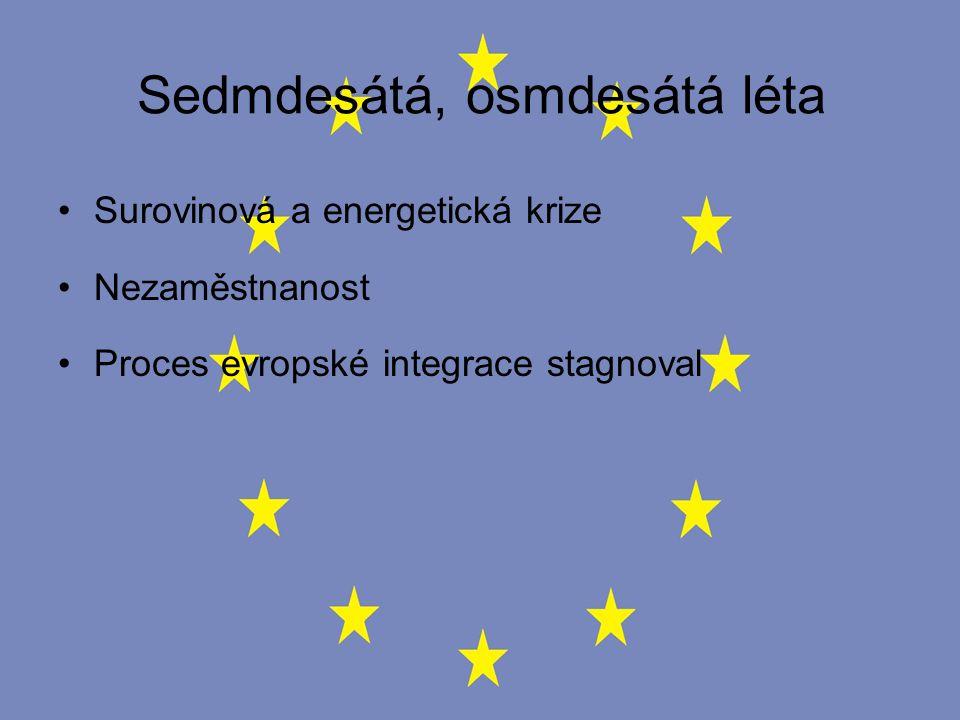 Evropský měnový systém (EMS) Vznikl v roce 1979