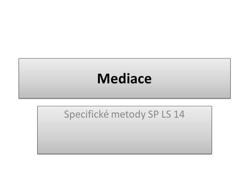 Mediace Specifické metody SP LS 14