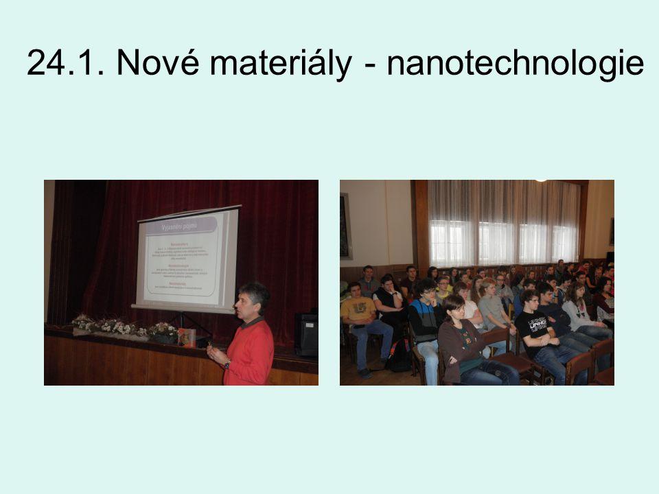 24.1. Nové materiály - nanotechnologie