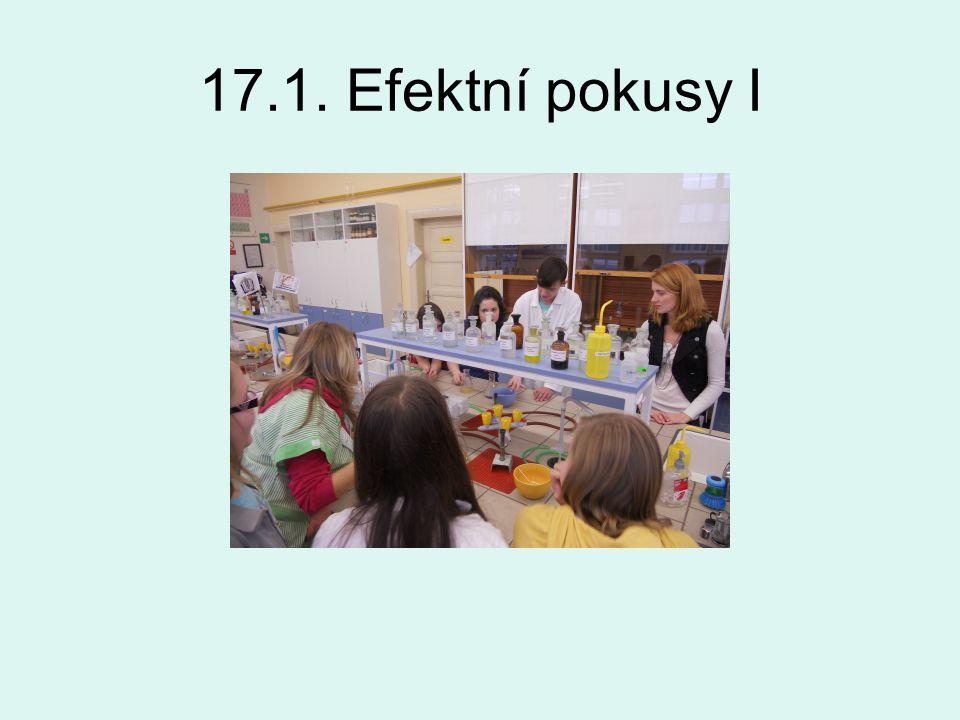 17.1. Efektní pokusy I