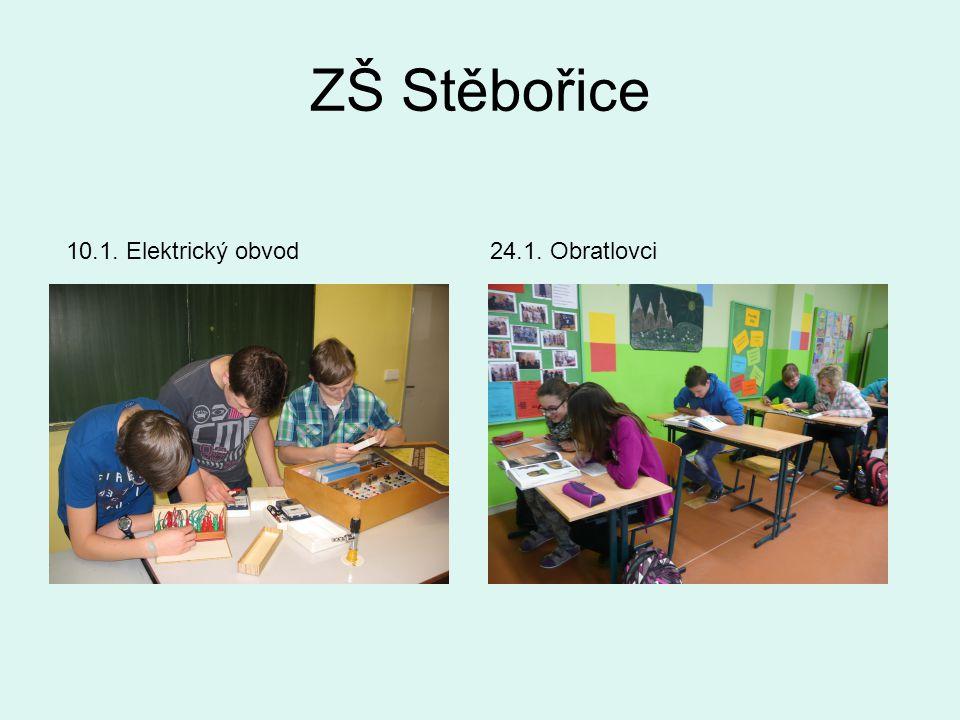 ZŠ Stěbořice 10.1. Elektrický obvod24.1. Obratlovci