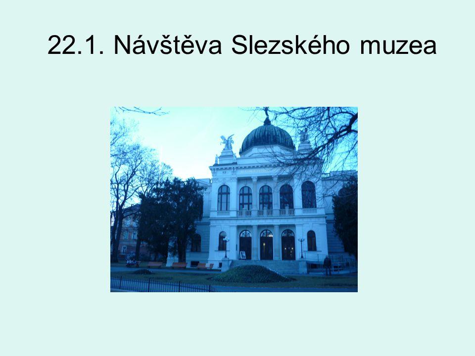 22.1. Návštěva Slezského muzea