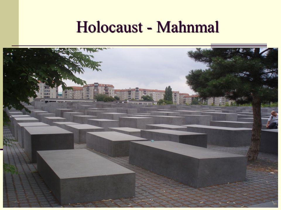 Holocaust - Mahnmal