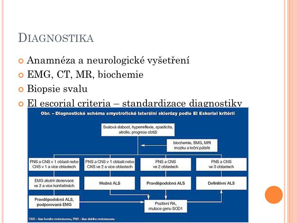 D IFERENCIÁLNÍ DG Hernie disku v krční oblasti Cervikální myelopatie Polyneuropatie Pseudobulbární paralýza Creutzfeldt – Jacobova choroba