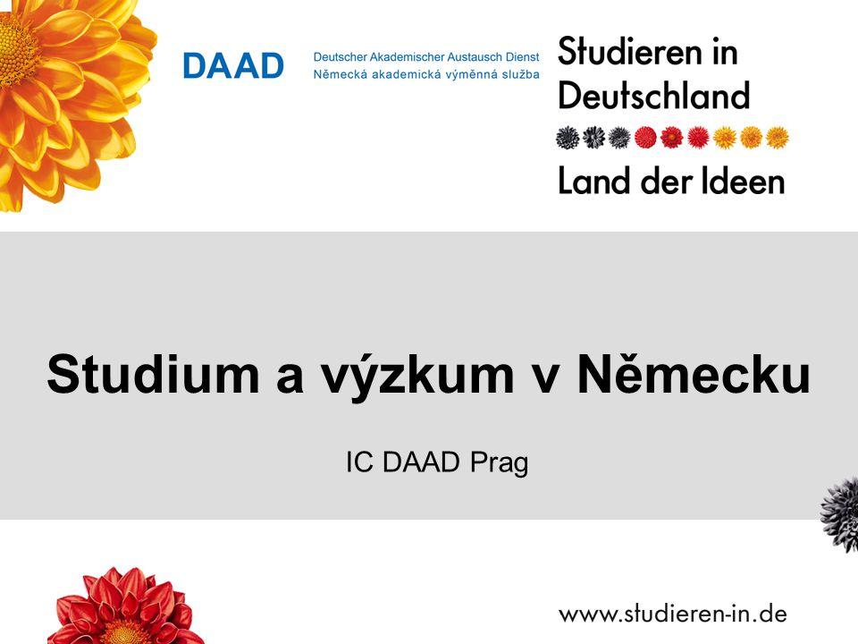 Studium a výzkum v Německu IC DAAD Prag