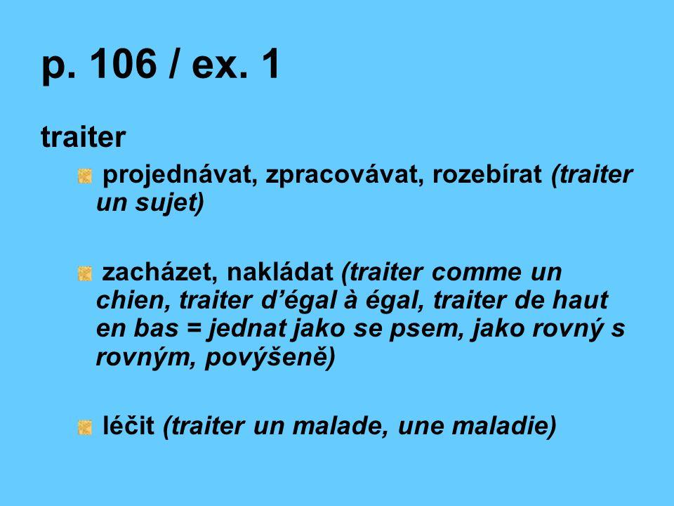 p. 106 / ex.