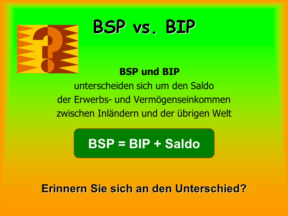 BSP vs.