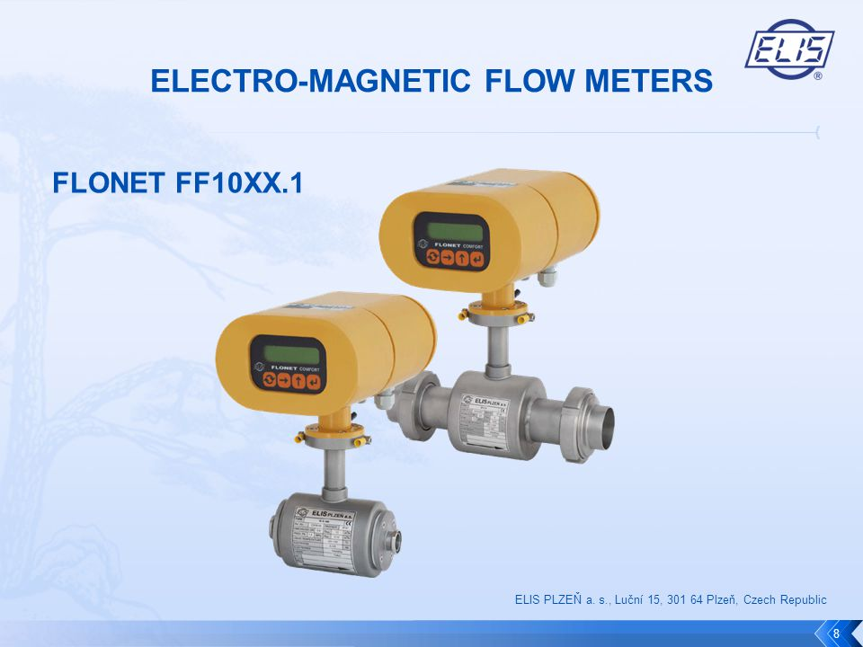 FLONET FF10XX.1  Produced sizes: DN10 to DN100 / 1/2 to 4 (Clamp)  Nominal pressure: 10bar / 150lb  Min.