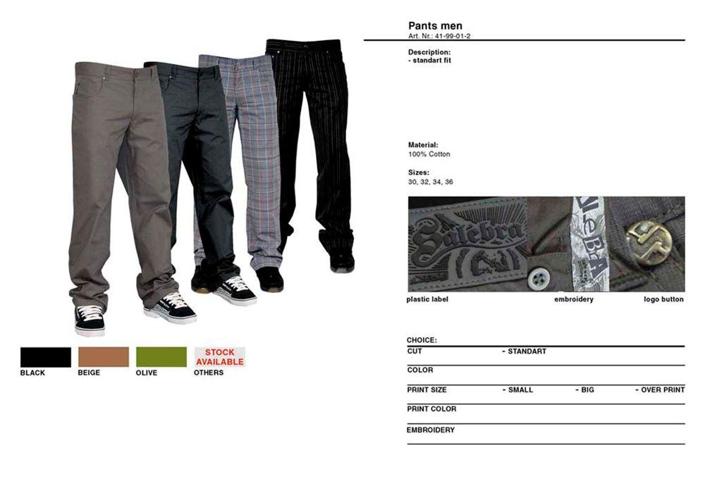 Pants street men