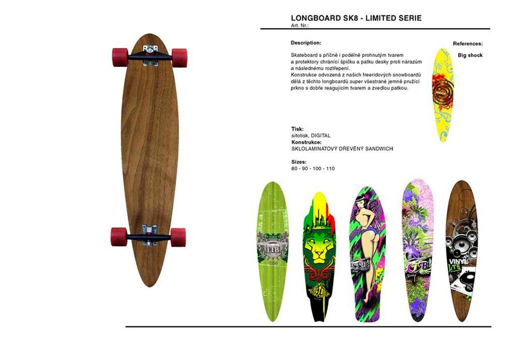 Skateboard long