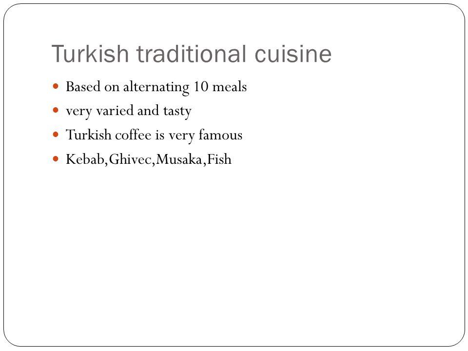 Pavla Navrátilová a Adriana P ř ibylová Turkish traditional cuisine