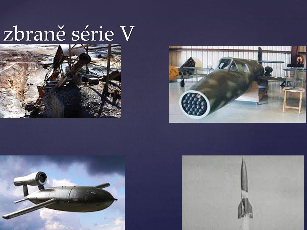 zbraně série V