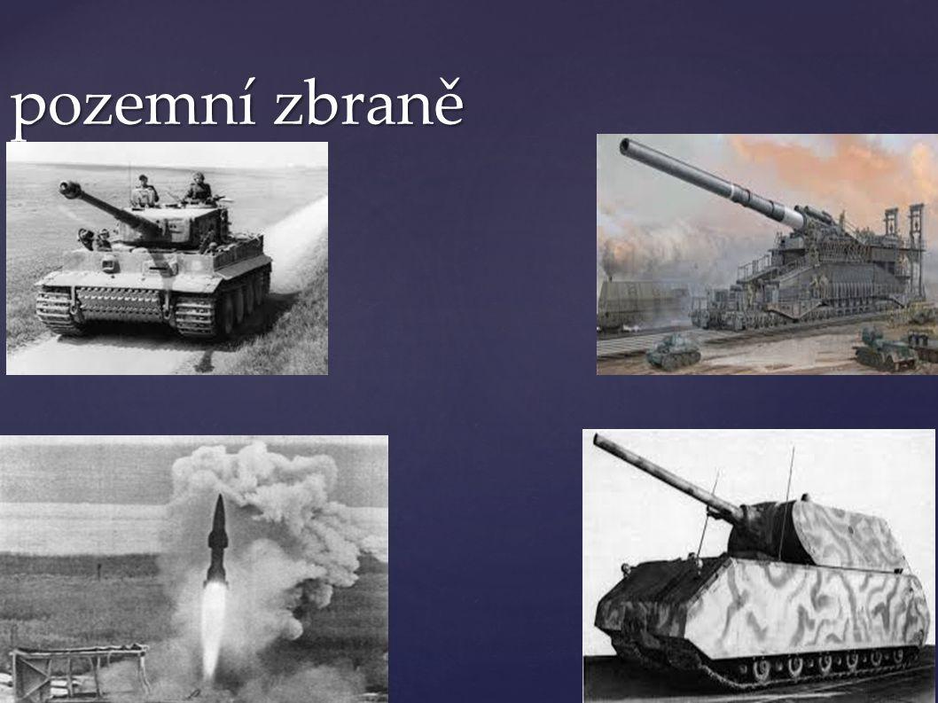 pozemní zbraně