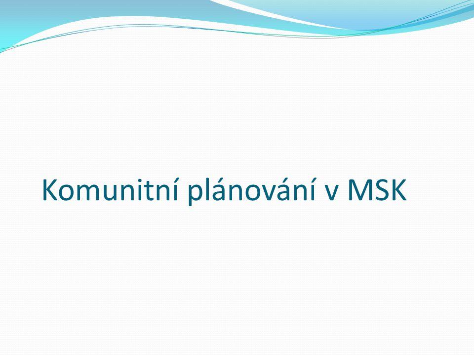 Komunitní plánování v MSK