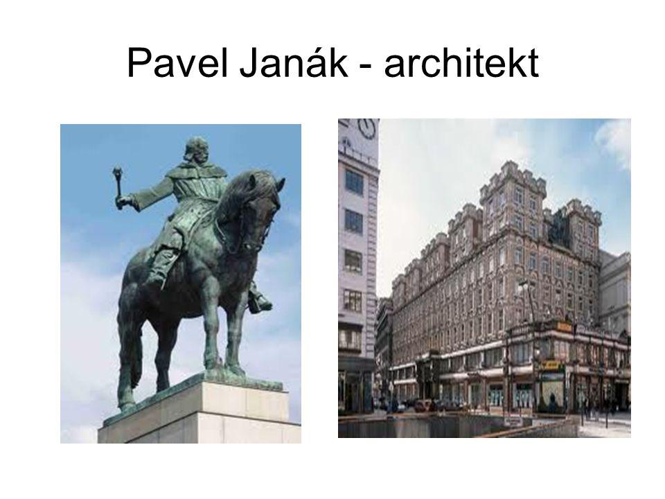 Pavel Janák - architekt