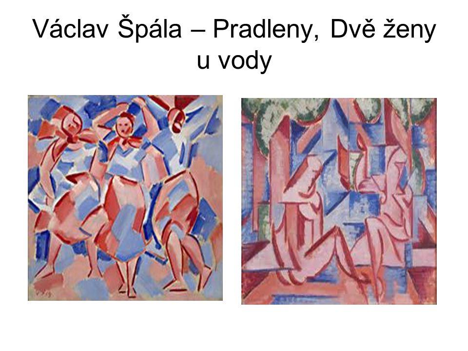 Václav Špála – Pradleny, Dvě ženy u vody