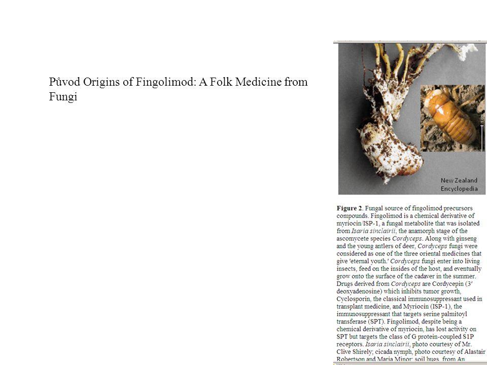 39 Původ Origins of Fingolimod: A Folk Medicine from Fungi