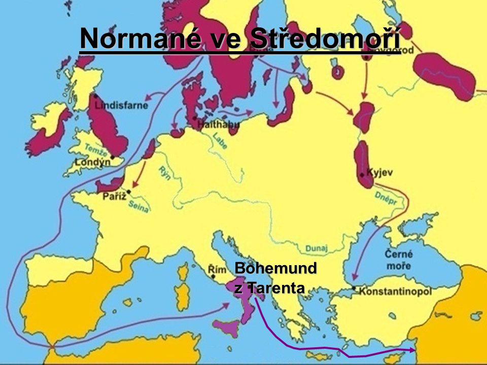 Normané ve Středomoří Bohemund z Tarenta