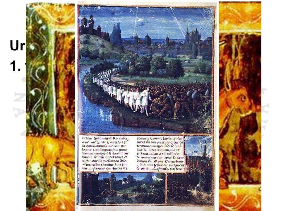 První křížová výprava Urban II. - Clermont 1095 1. výprava 1096 – 1099 Petr Poustevník