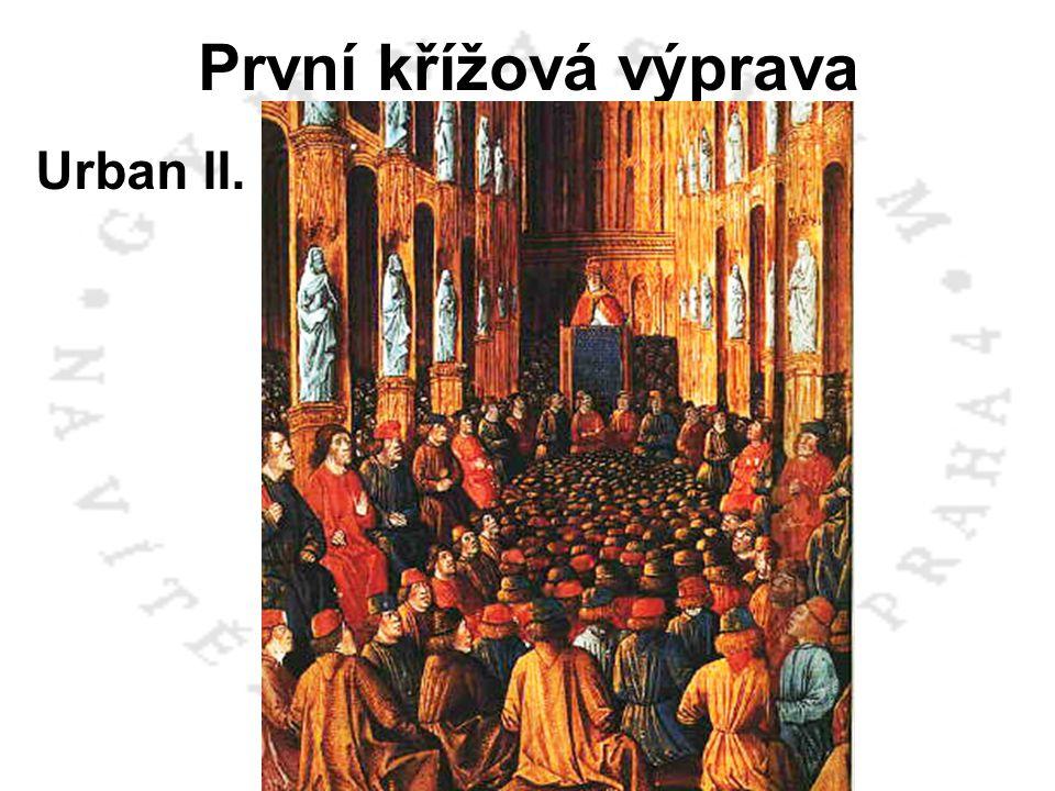 První křížová výprava Urban II. - Clermont 1095