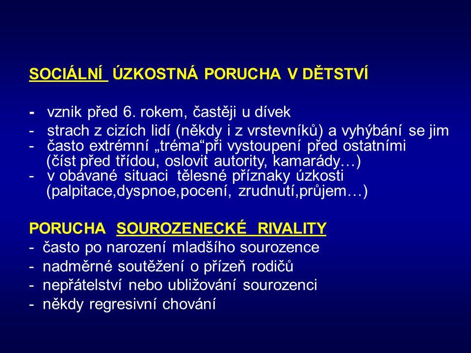Údaje ze statistické ročenky MZ ČR