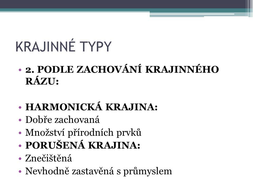 KRAJINNÉ TYPY 2.
