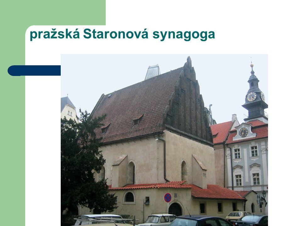 pražská Staronová synagoga
