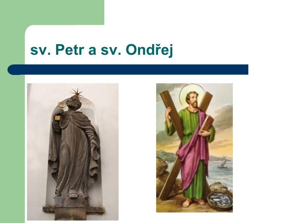 sv. Petr a sv. Ondřej