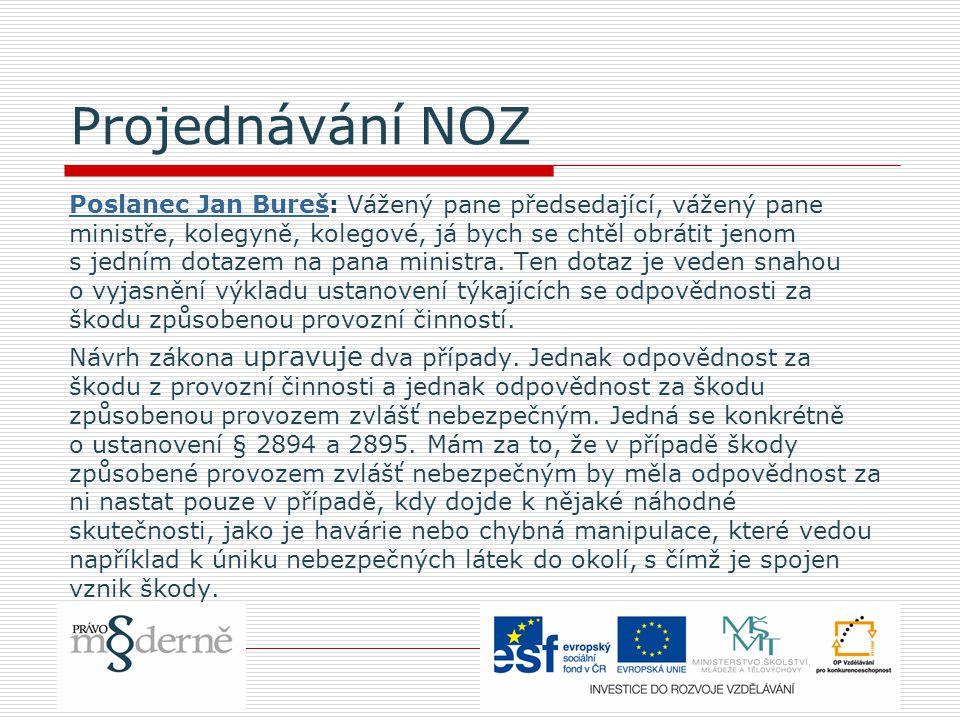 Příklad: pojem odvlečení podle zákona č.172/2002 Sb.