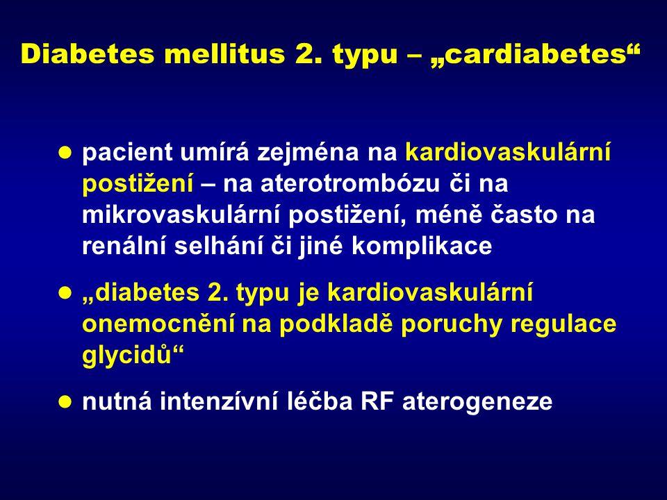 hyperglykemie glukoneogeneze glukosurie ↓ insulinu ↑ MK ↓ utilizace glukózy glukóza v potravě