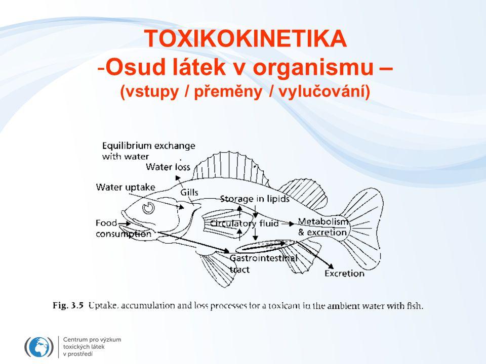 PŘÍJEM ~ ELIMINACE (rovnováha, homeostáza) - udržování látky v organismu pod úrovní škodlivého efektu - organismus však vynakládá energii na udržení rovnováhy (procesy eliminace, metabolismus...) PŘÍJEM > ELIMINACE - nárůst koncentrací látky v organismu - časem překročení úrovně efektu (threshold level) Překročení limitů homeostatických procesů -> přechod ze stadia rezistence (resp.