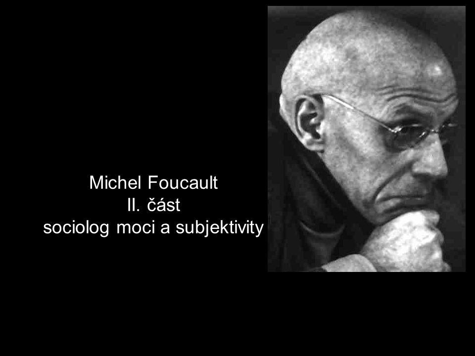 Foucaultova metoda archeologie vs.
