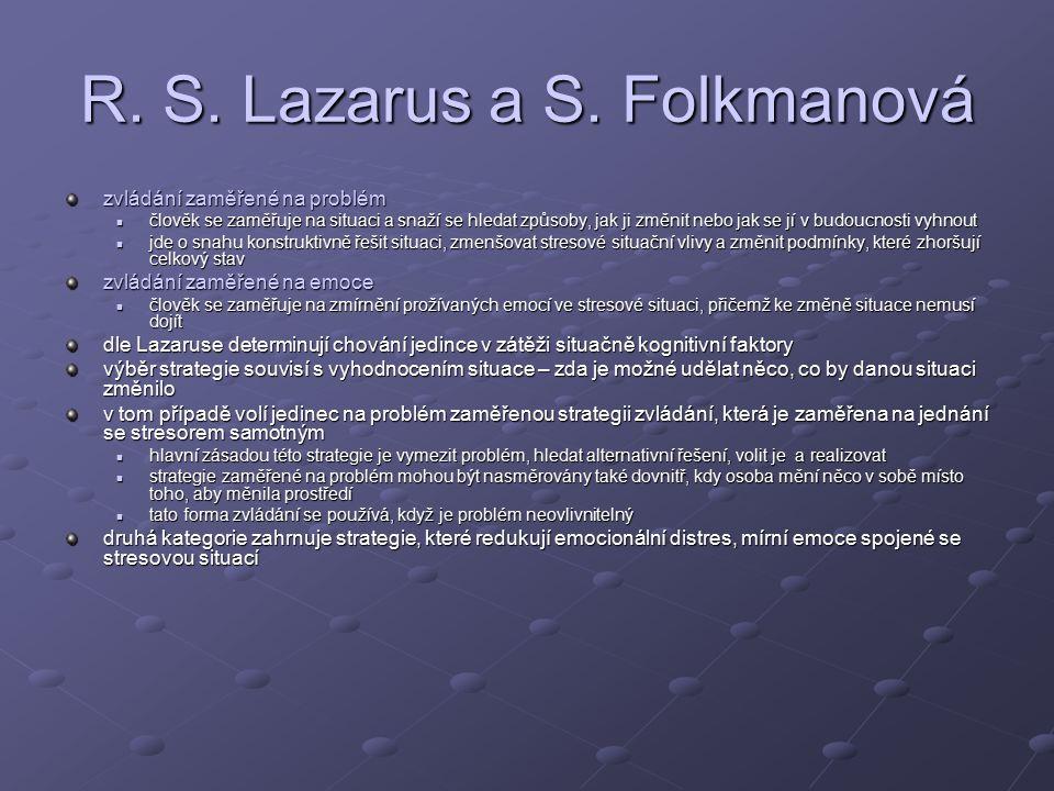 R.S. Lazarus a S.
