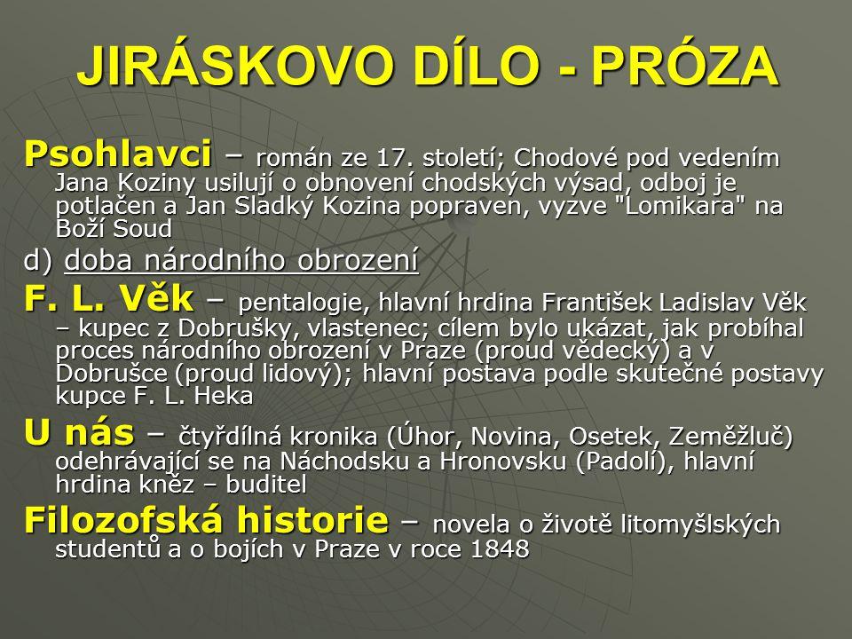 Psohlavci – román ze 17.