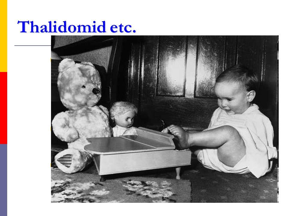 Thalidomid etc.  nejenom thalidomid, ale též lenalidomid či pomalidomid pronikají do běžné hematoonkologické praxe (MM, myelodysplastický sy aj.)  i