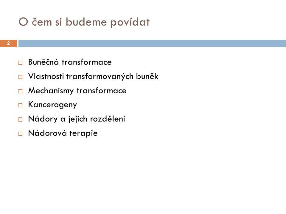 Vznik metastáze Primární nádor Sekundární nádor - metastáze 43