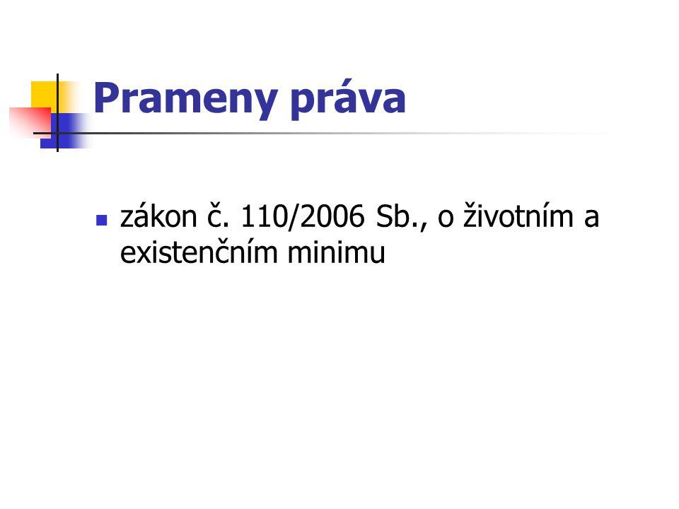 Životní minimum čl.30 odst.