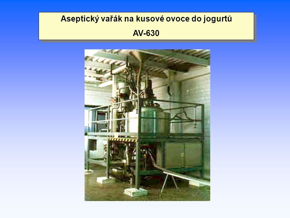 Aseptický vařák na kusové ovoce do jogurtů AV-630 Aseptický vařák na kusové ovoce do jogurtů AV-630