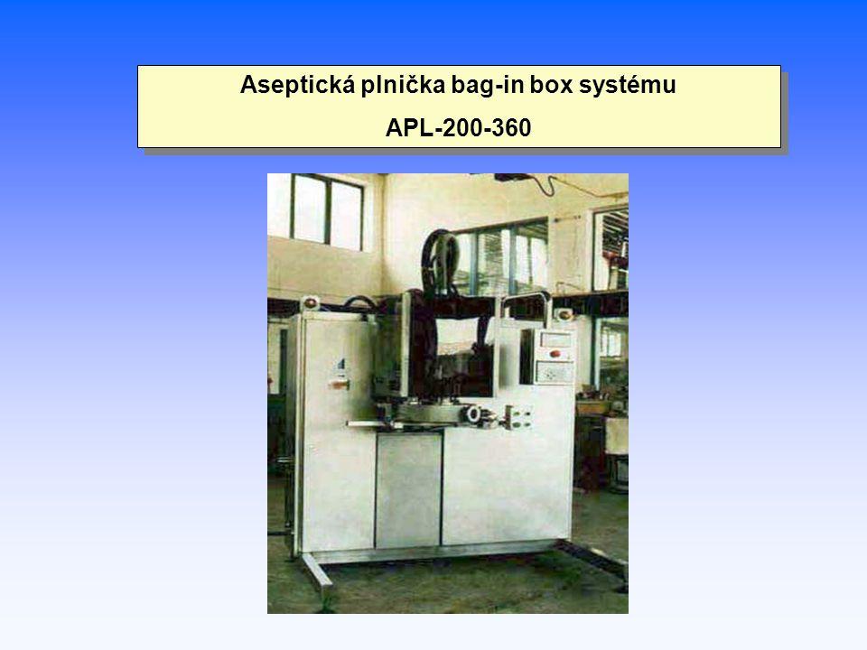Aseptická plnička bag-in box systému APL-200-360 Aseptická plnička bag-in box systému APL-200-360