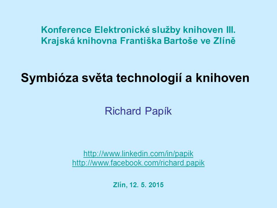 Konference Elektronické služby knihoven III.
