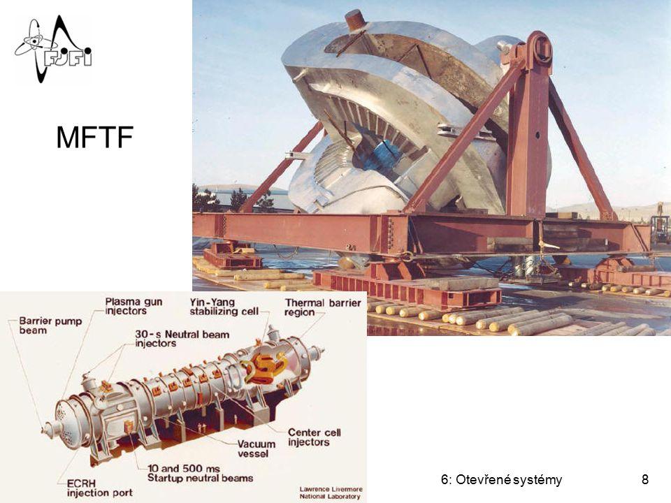 Úvod do termojaderné fúze6: Otevřené systémy9 Technická řešení min