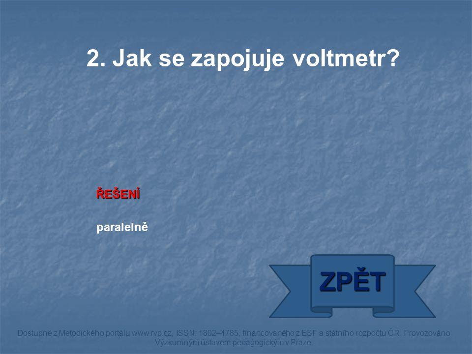 ŘEŠENÍ póly ZPĚT Dostupné z Metodického portálu www.rvp.cz, ISSN: 1802–4785, financovaného z ESF a státního rozpočtu ČR.