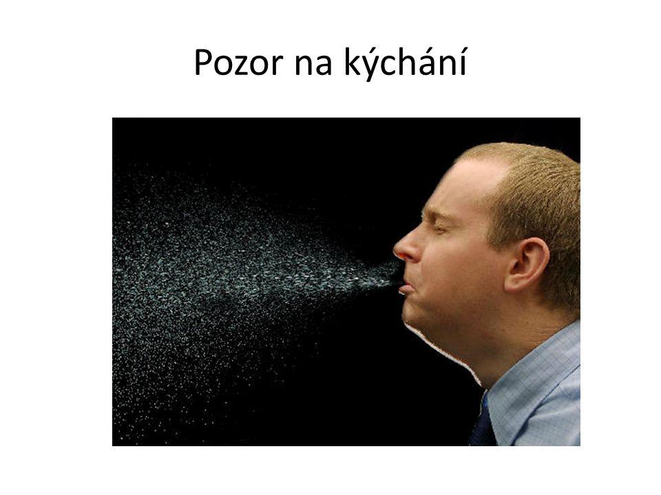 Pozor na kýchání
