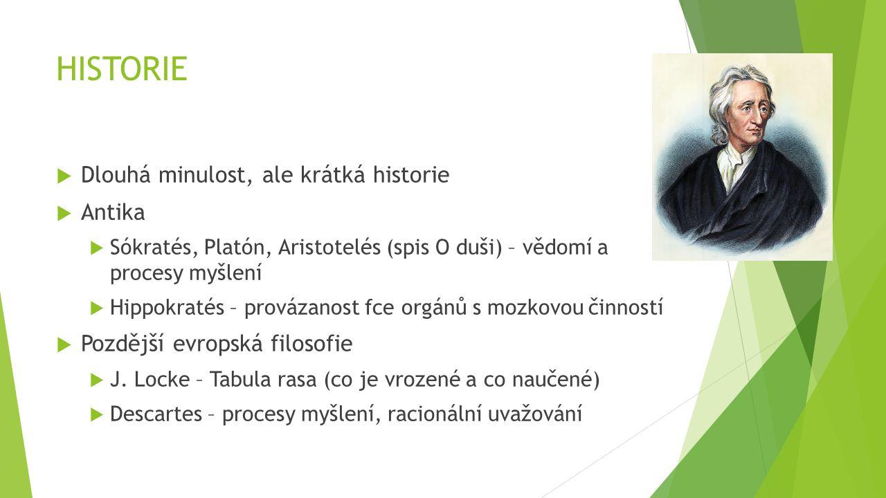 HISTORIE  Pozitivismus  A.