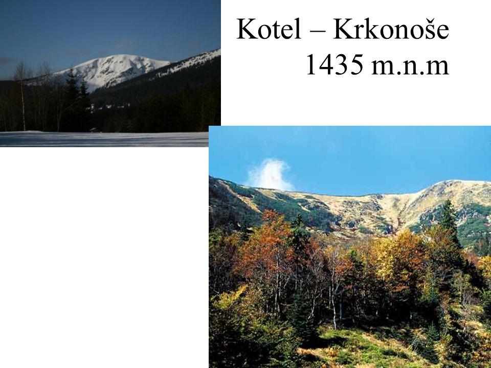 Kotel – Krkonoše 1435 m.n.m