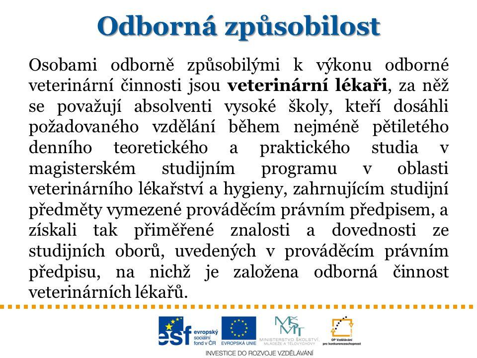 DDD Odborná způsobilost podle § 58 zákona č.