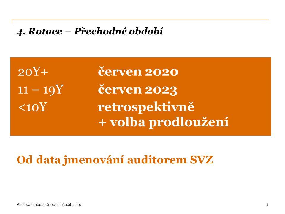 PricewaterhouseCoopers Audit, s.r.o.5.